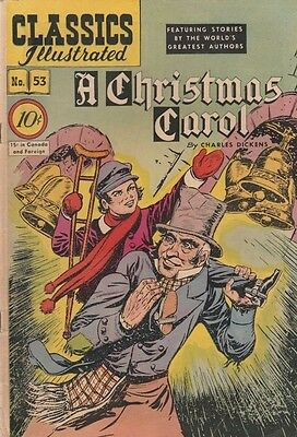 Classics Illustrated 53 strict VG/FN Mid-Grade Ebanezer Scrooge (O) Original Wow
