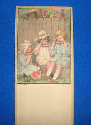 Vintage Black Americana Trade Card Advertisment Unknown