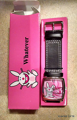 "AVON Happy Bunny ""Whatever"" Watch New in Box NIB"
