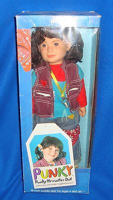 "Vintage Galoob Punky Brewster 20"" Doll in Original Box"