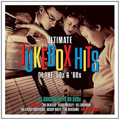 Various-Ultimate Jukebox Hits Of The 50`s & 60`s  (Uk Import)  Cd New