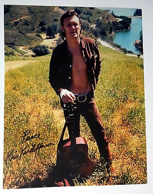 """Kris Kristofferson REAL hand SIGNED 11x14"""" Photo #3 Autographed w/ EXACT PROOF"""