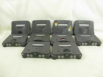 WHOLESALE Nintendo 64 Lot of 10 Console Working tested FREE Shipping 6200