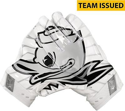 Oregon Ducks Team-Issued White and Black Superbad Nike Football Item#7168298