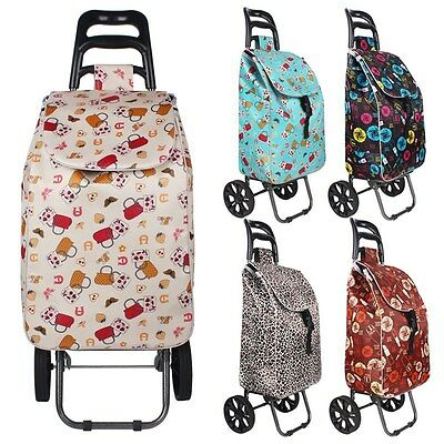 Hot Shopping Trolley Outdoor Travel Dolly Wheels Bag Multifunction Market Cart