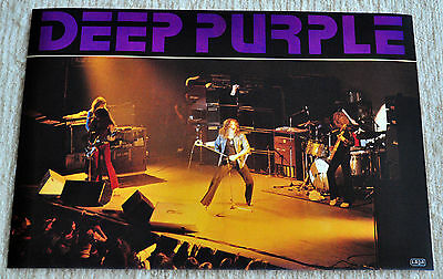 Deep Purple poster Deep Purple Mark III in Graz live on stage poster RaRe NiCe!!