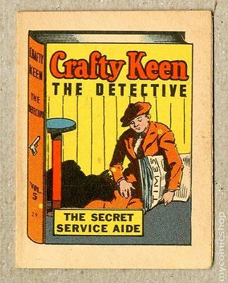 Thrilling Stories Crafty Keene Booklet #5 VF+ 8.5