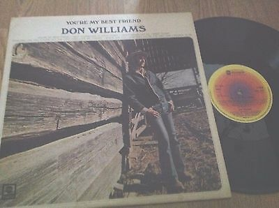 DON WILLIAMS  **     You ' re My Best Friend    **   UK ABC  LP    NM / Exc