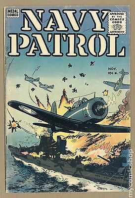 Navy Patrol (1955) #4 GD/VG 3.0
