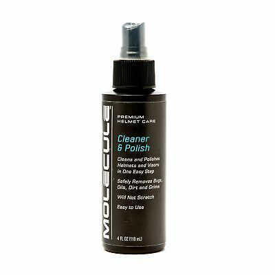 Molecule Motorsport / Bike / MC Helmet Cleaner & Polish / Bug Remover 4oz Spray