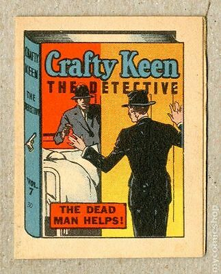 Thrilling Stories Crafty Keene Booklet #7 FN 6.0