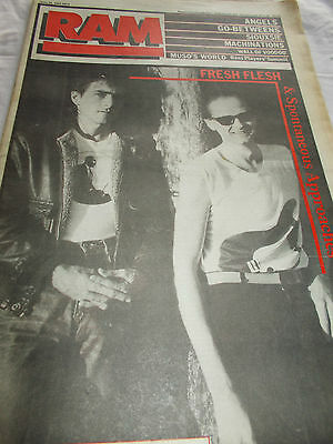 Angels - Ram -Oz Music Mag -1983 - Go-Betweens-Siouxsie-Machinations