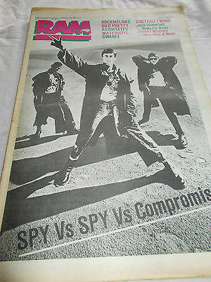 Spy V Spy - Ram -Oz Music Mag -1985-#259- Rockmelons-Died Pretty-Associates