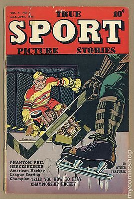 True Sport Picture Stories Vol. 4 (1947) #6 GD/VG 3.0