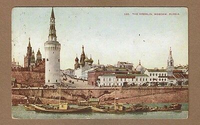 The Kremlin, Moscow, Russia #130 English text used 1911