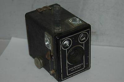 Kodak  Six-20  Brownie .d.  Box Camera.