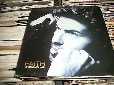 "George Michael-  Faith Vinyl 7"" 45Rpm Ps"