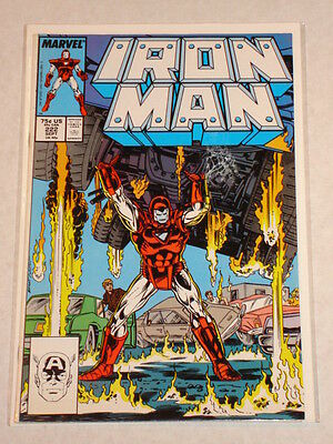 Ironman #222 Vol1 Marvel Comics September 1987