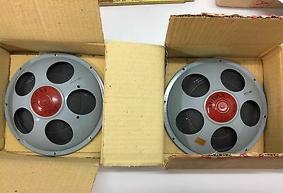 Very Rare Vintage Nos Audax T24 Pv12 Full Range Speakers Boxed One Pair
