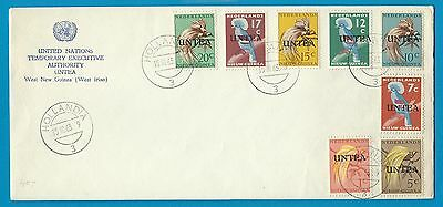 NETHERLANDS NEW GUINEA United Nations cover with UNTEA stamps Hollandia 1963