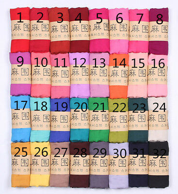 2017  New Style Scarves Lady Women Long Soft Cotton Scarf Wrap Shawl Stole