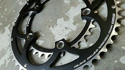Campagnolo CENTAUR Chainrings (34 + 50t) 110mm BCD Road Bike 10 SPEED Compact