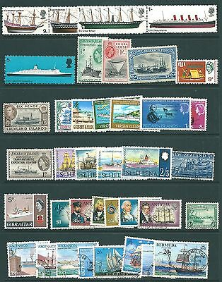 A THEMATIC collection of stamps - SHIPS
