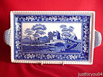 Spode  Blue Tower Serving Tray. Spode Design C.1814V