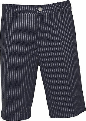 adidas ClimaLite Pin Stripe Golf Shorts - Navy