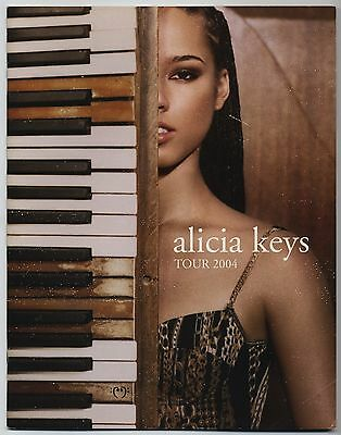 Alicia Keys - Tour 2004 US PROGRAM with JAPAN FLYER 2004