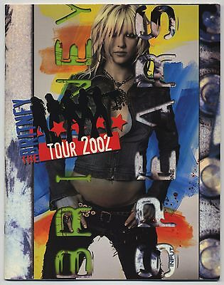 Britney Spears - Britney The Tour 2002 JAPAN PROGRAM April 25 2002