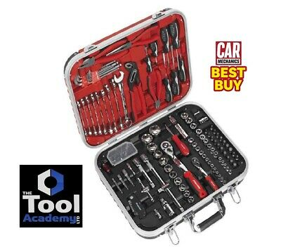 Sealey AK7980 136 Pce Mechanic's Tool Kit With Carry Case SOCKETS WRENCH + MORE