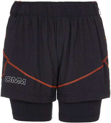 OMM Pace Ladies Running Shorts - Black