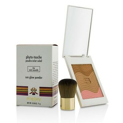 Sisley Phyto Touche Sun Glow Powder With Brush - #Trio Miel Cannelle 11g Bronzer