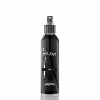 MILLEFIORI Natural New Home Spray Raumspray 150 ml NERO