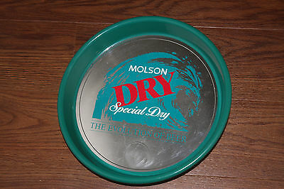 Molson Dry Special Dry The Evolution Of Beer Tray Made In Canada