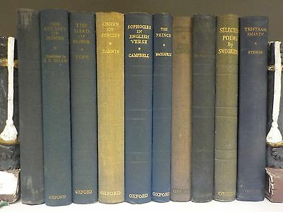 'The World's Classics' - Oxford - 10 Books Collection! (ID:47733)