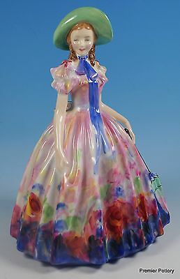 Royal Doulton Bone China Hand Painted Lady Figurine Easter Day HN 2039