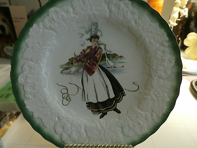 Vintage Alfred Meakin England French Costumes 18th Century Plate
