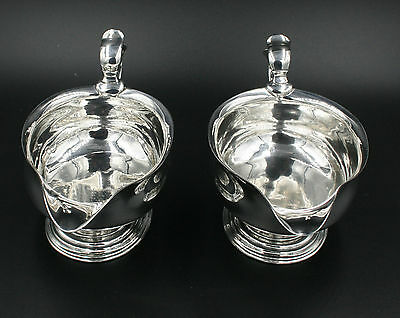 Pair of 18th century George II Sauce boats London 1737