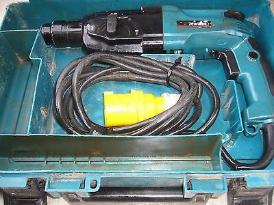 Makita HR2450 SDS+ 3 Mode Hammer Drill with Chisel Function 110v 780W