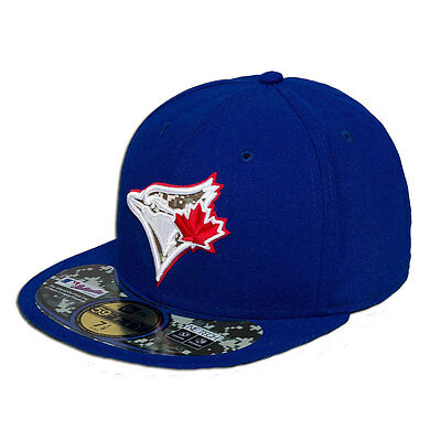 Toronto Blue Jays MLB Camo 59FIFTY [5950] Fitted Cap