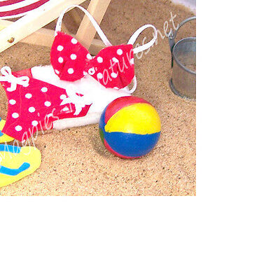 Dolls House 12th scale Beach Ball - Single
