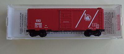 CNJ Central of New Jersey 40' Boxcar - 20196 / 20505 - Micro Trains N Scale