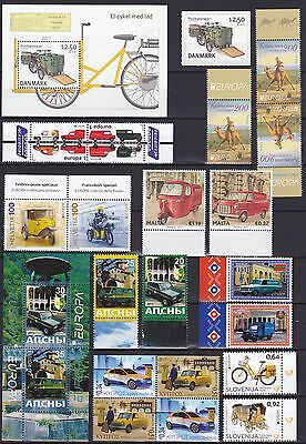 EUROPA CEPT - 2013 - 37 Different Complete Countries - (The Postman) ** MNH