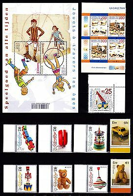 EUROPA CEPT - 2015 - 47 Different Complete Countries - Old Toys ** MNH