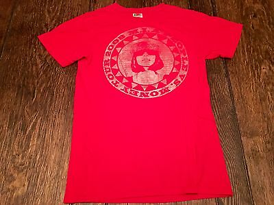M.I.A. People vs. Money 2008 Tour mens S small red shirt lady gaga fka twigs