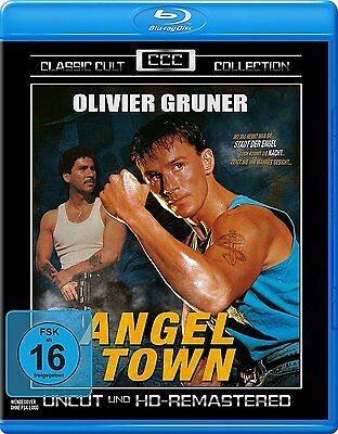 Angel Town (1990) Oliver Gruner BLU-RAY Import NEW USA Compatible