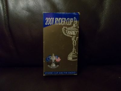 Very Rare 2001 Ryder Cup Am/fm Radio New In Box