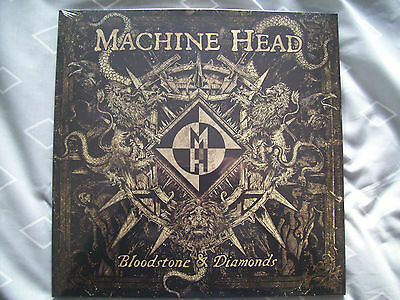 Machine Head Bloodstone & Diamonds Double White Vinyl Limited Edition New&sealed